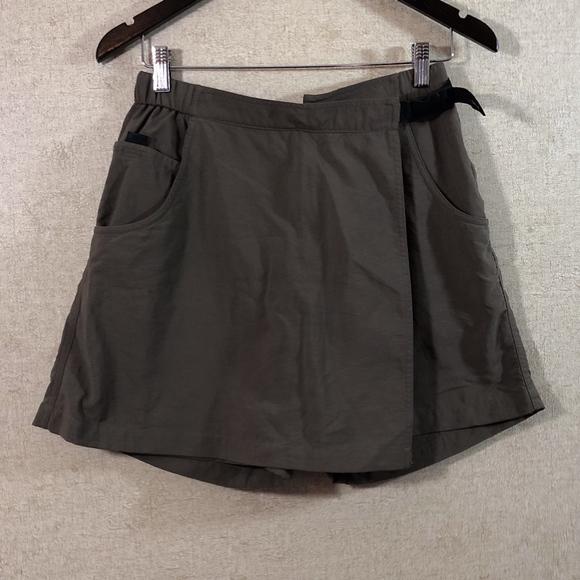 Activewear Bottoms COLUMBIA Gray OMNI SHIELD Athletic Skort